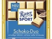 Ciocolata alba si neagra Choco Duo Ritter Sport