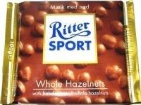 Ciocolata cu alune intregi Ritter Sport