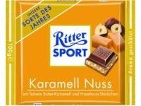 Ciocolata cu alune si caramel Ritter Sport