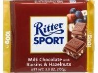 Ciocolata cu stafide si alune Ritter Sport