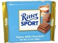 Ciocolata lapte alpin Ritter Sport