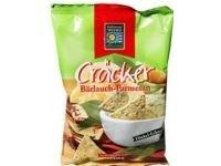 Crackers cu usturoi salbatic si parmezan Muhle