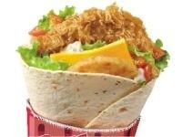 Sandwich Twister KFC
