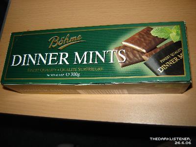 Ciocolata Dinner Mints Bohme